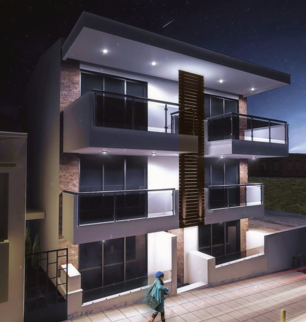 archicostudio_apartment-building_night-front-view