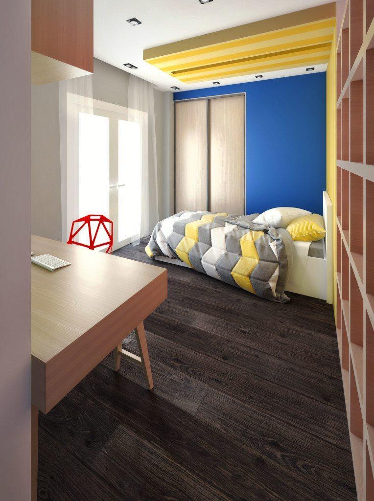 archicostudio_ren-m10_bedroom-blue-wall