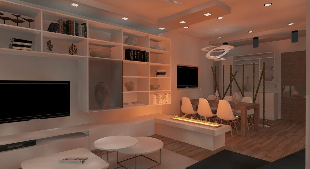 archicostudio_ren-m5_living_night-view
