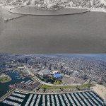 Long Beach California, USA. 1953 vs 2009.