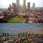 Singapore. 1990s vs Today.