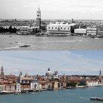 Venice, Italy. 1970 vs Today.